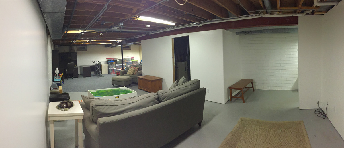 Basement Project - After