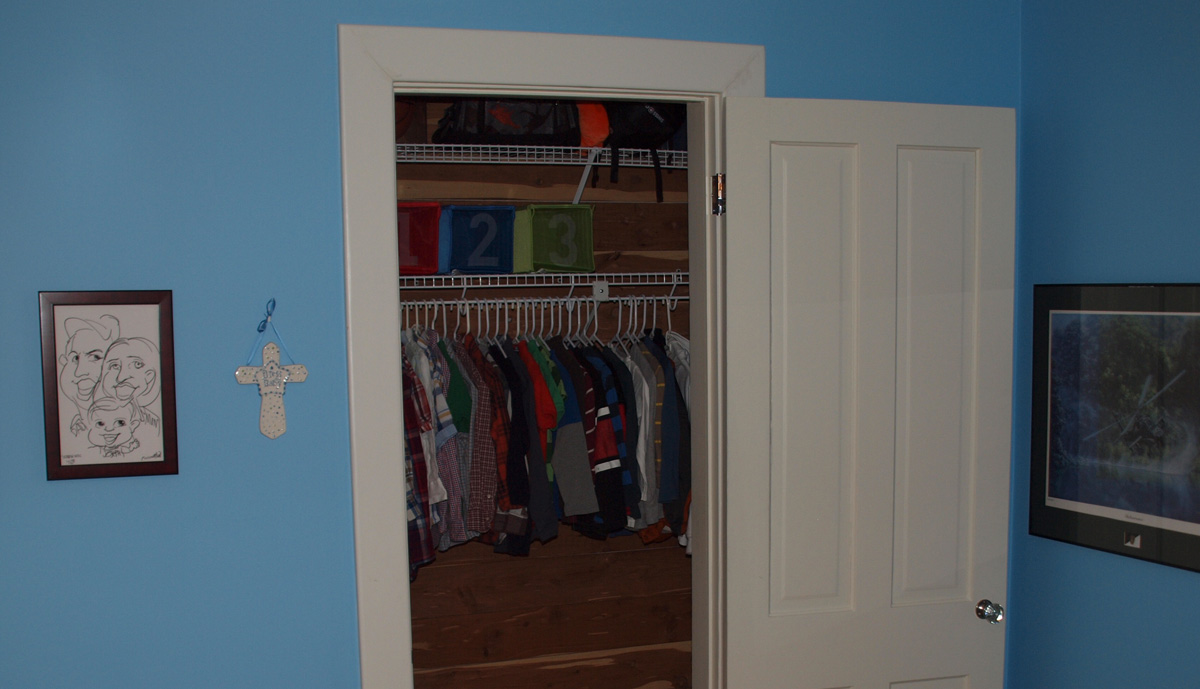 Boys Closet - After