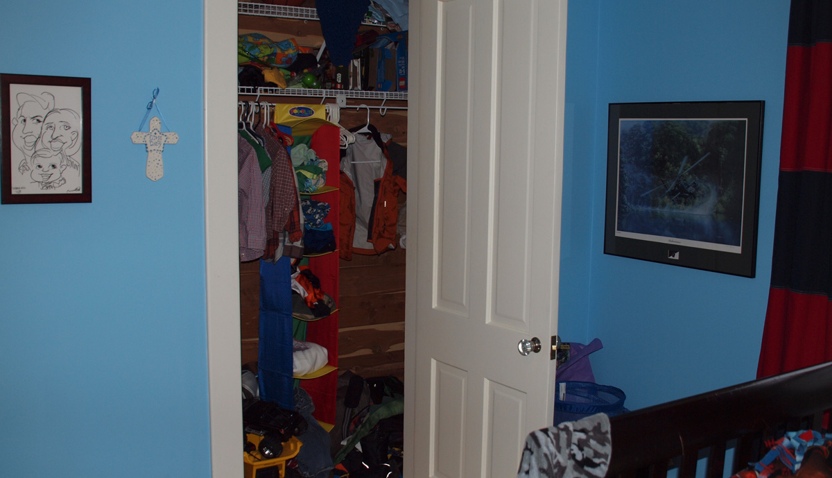 Boys Closet - Before