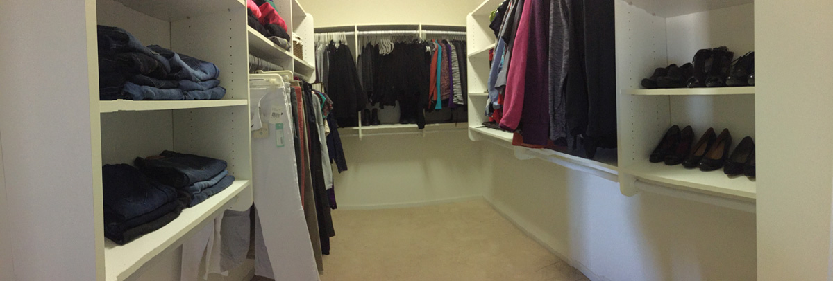 Adult Closet - After