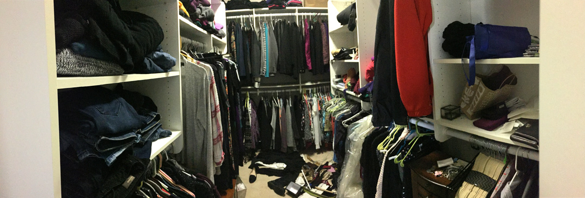 Adult Closet - Before