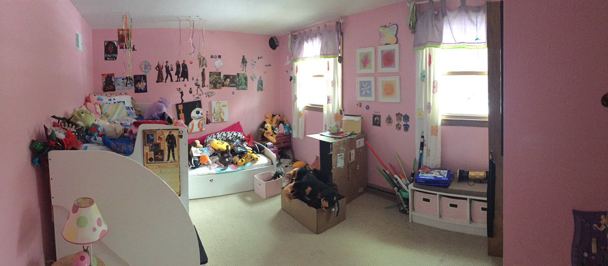 Girls Room - Before