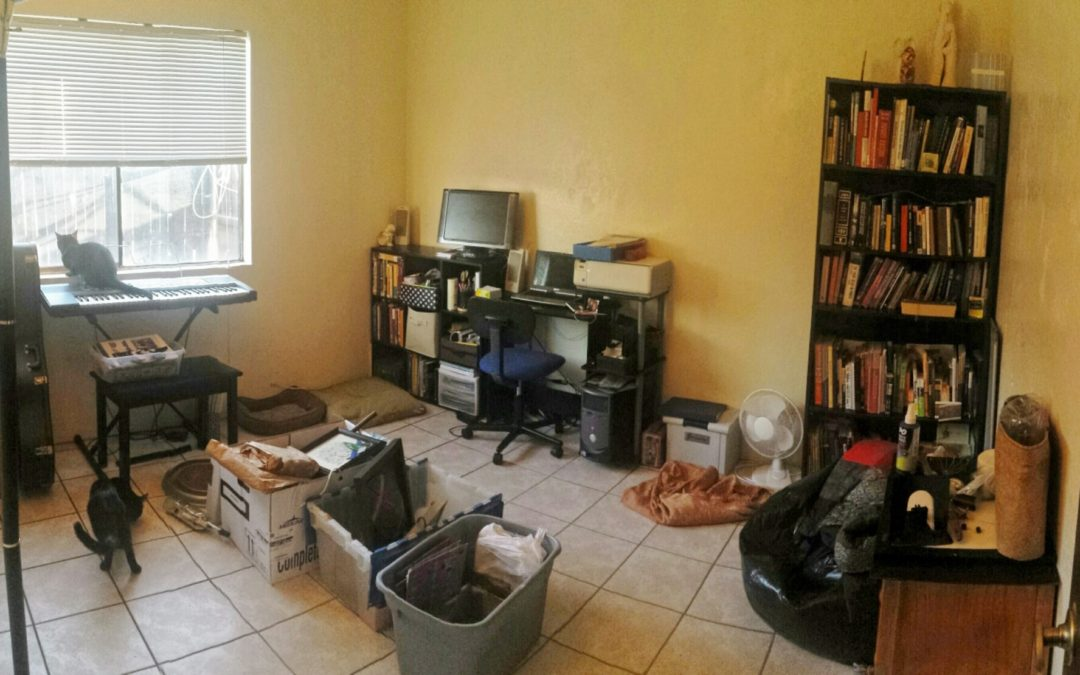 Home Office – From Cluttered to Focused by Laurel Schenkoske