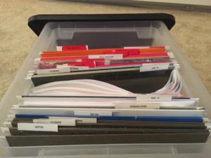 Organizing Paperwork for long-term efficiency